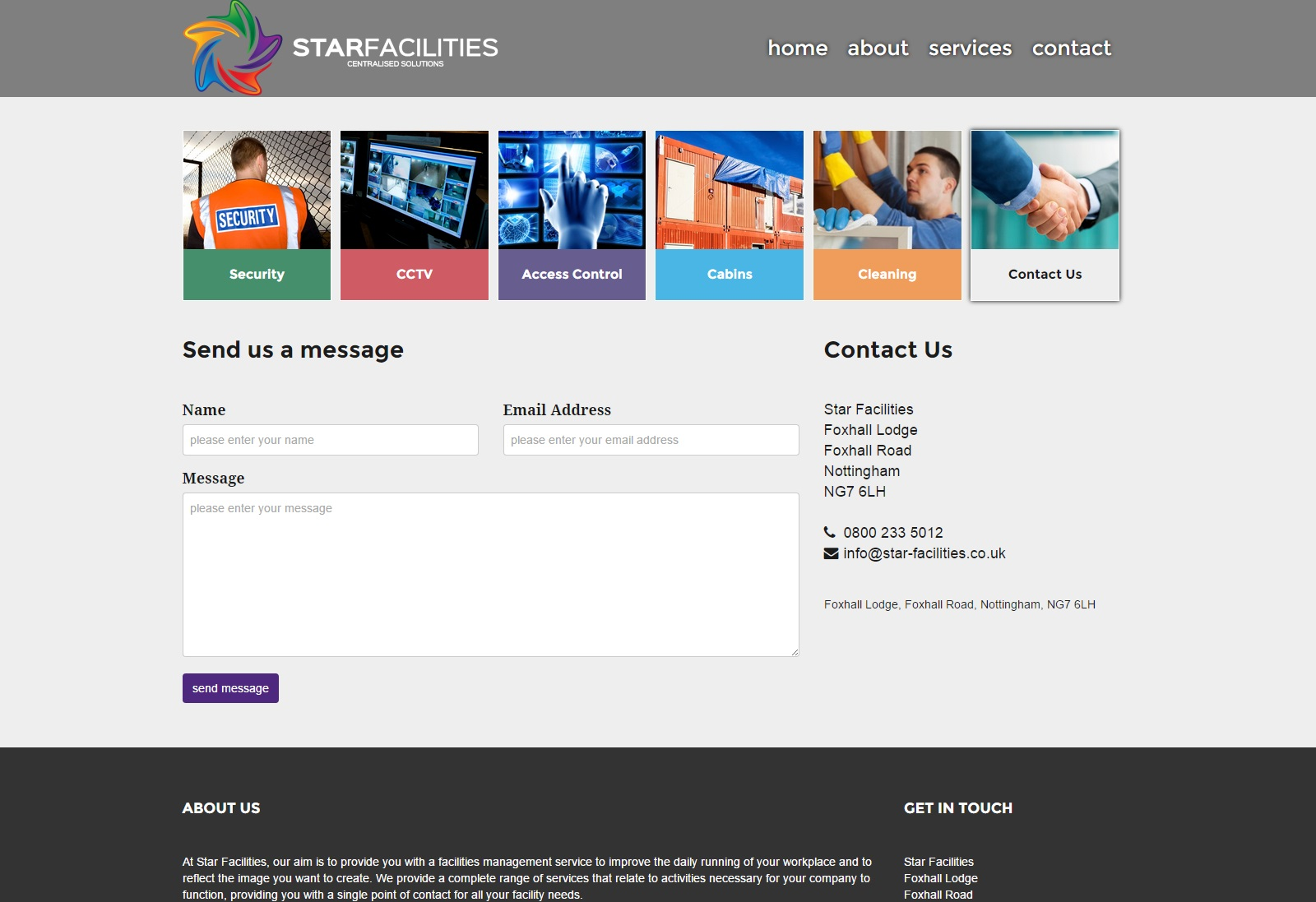 Web Design | StarFacilities